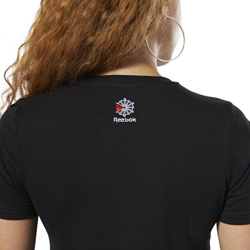 CL Reebok Kadın Siyah T-Shirt