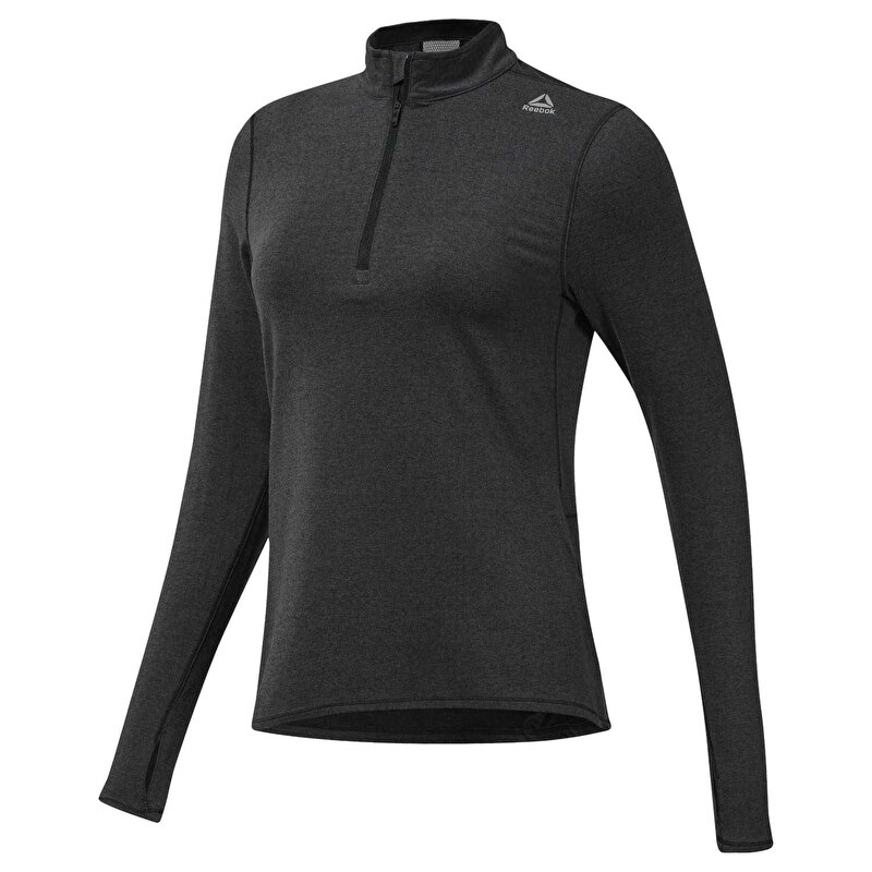 RUNNING ESSENTIALS YARIM FERMUARLI SWEATSHIRT